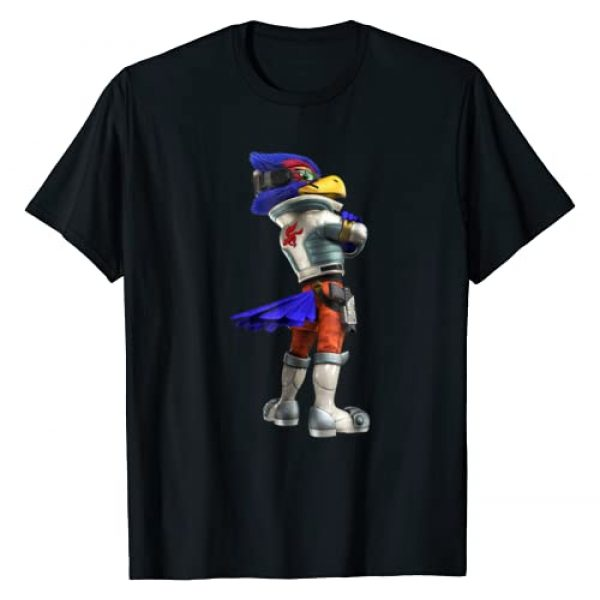 Nintendo Graphic Tshirt 1 Star Fox Falco Side Glance Graphic T-Shirt