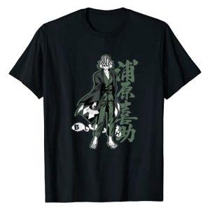 Bleach Graphic Tshirt 1 Kisuke with Vertical Kanji T-Shirt