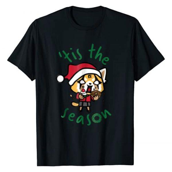 """Aggretsuko Graphic Tshirt 1 Rage """"Tis The Season"""" Tee Shirt"""