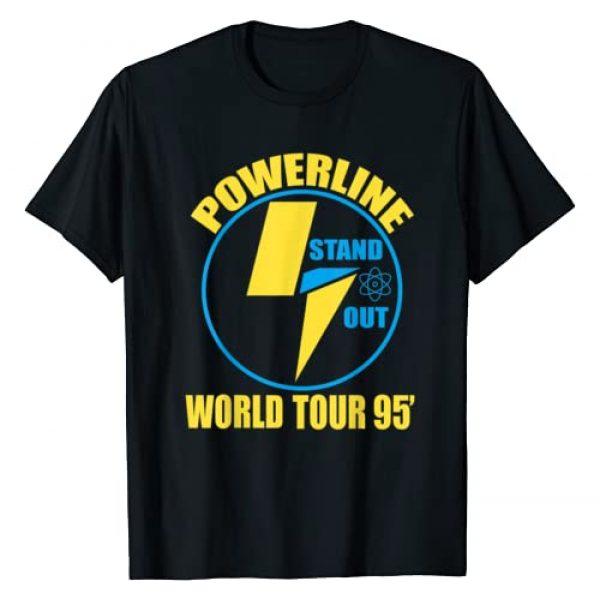 Powerline Tee Graphic Tshirt 1 Powerline Shirts World Tour T-Shirt