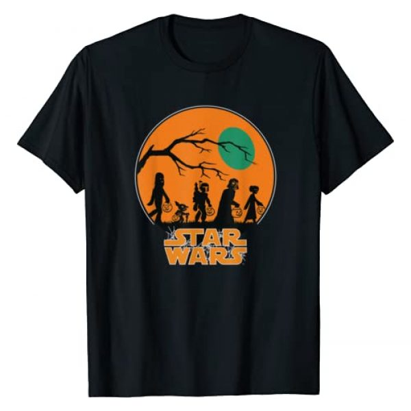 Star Wars Graphic Tshirt 1 Characters Trick Or Treat Halloween T-Shirt