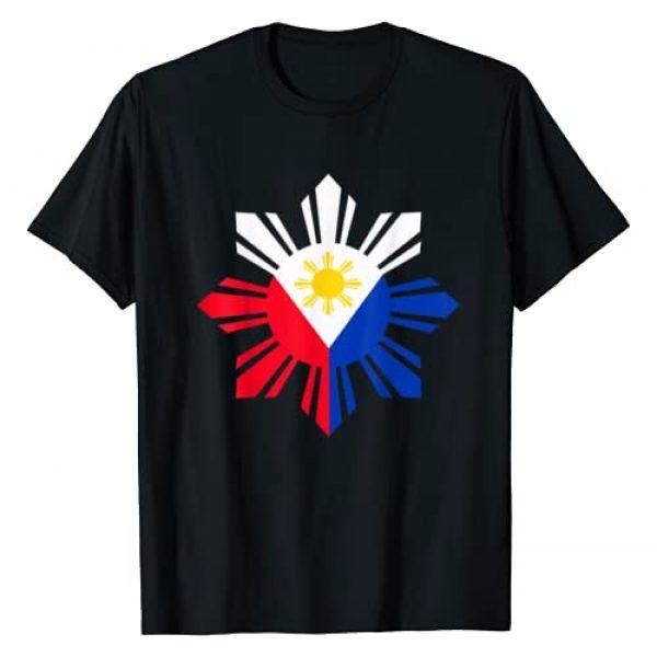 Philippine Gifts Filipino Gifts Graphic Tshirt 1 Philippine Flag T-Shirt Pinoy Flag Filipino Shirt Pinoy Sun