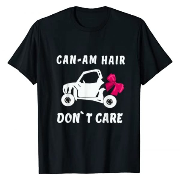 Don`t Care Graphic Tshirt 1 Can Am Shirt. Retro Style Off Road l Hair Don`t Care shirt T-Shirt