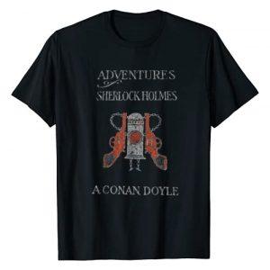 Sherlock Shirts Graphic Tshirt 1 1892 1st Edition Cover Adventures of Sherlock Holmes T-Shirt