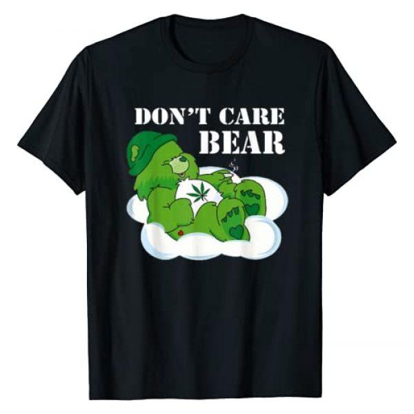 Funny Tee Graphic Tshirt 1 Weed bear herb bear t-shirt don't care cute bear gift