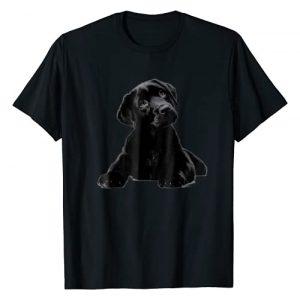 Unknown Graphic Tshirt 1 Cute Black Lab Puppy Dog Animal Lover Shirt
