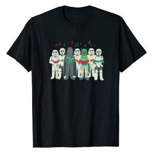 Star Wars Graphic Tshirt 1 Darth Vader Sithmas Choir Holiday T-Shirt