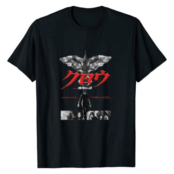 Unknown Graphic Tshirt 1 The Crow Japanese Poster T-Shirt