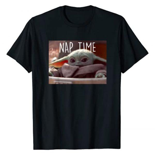 Star Wars Graphic Tshirt 1 The Mandalorian The Child Nap Time T-Shirt