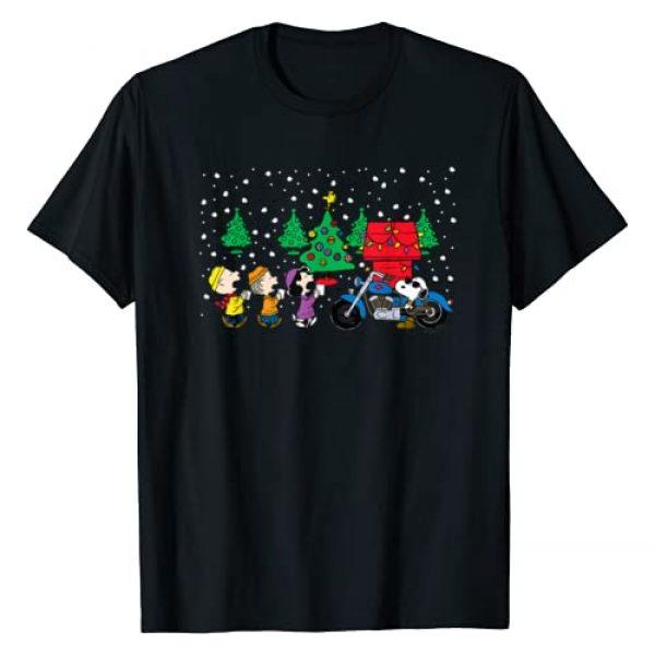 Peanuts Graphic Tshirt 1 Snoopy Holiday Cool Caroling T-shirt