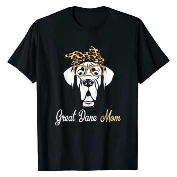 Great Dane Dog Birthday-Mother's day 2020 Graphic Tshirt 1 Birthday and Mother's day Gift-Great Dane Mom T-Shirt