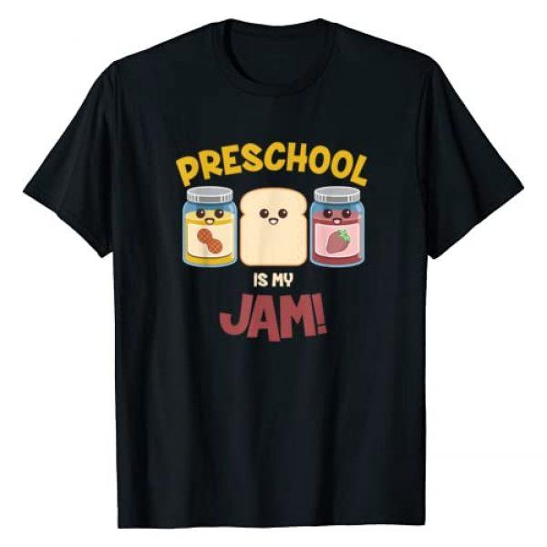Back To School Shirts by Mikomoku Graphic Tshirt 1 Preschool Is My Jam Teacher Shirt