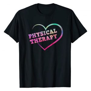 Physical Therapy Apparel Graphic Tshirt 1 Love PT Physical Therapy T-Shirt Therapist Gift