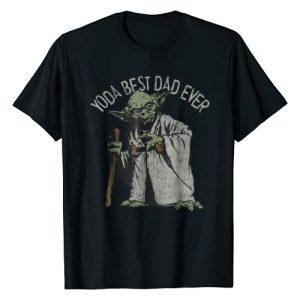 Star Wars Graphic Tshirt 1 Yoda Best Dad Ever Graphic T-Shirt