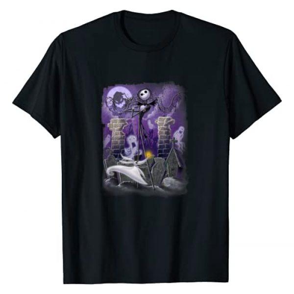Disney Graphic Tshirt 1 Nightmare Before Christmas Scene T Shirt