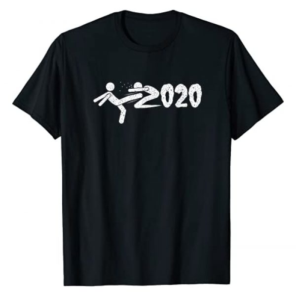 Goodby 2020 and welcome 2021 new year tee Graphic Tshirt 1 Funny Goodby 2020 , Kick 2020 and Welcome New Year 2021 T-Shirt