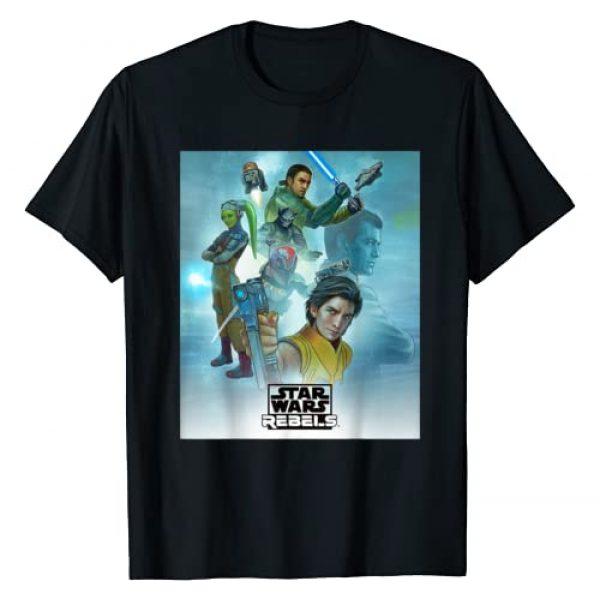 Star Wars Graphic Tshirt 1 Celebration Mural Rebels Series Logo T-Shirt