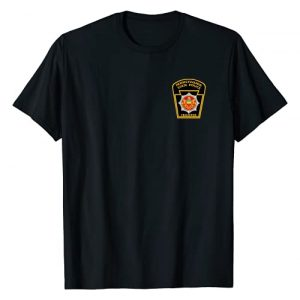 Law Enforcement Tees For All Graphic Tshirt 1 Pennsylvania State Police T-Shirt