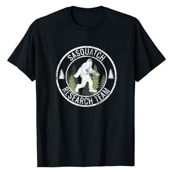 SASQUATCH RESEARCH TEAM Gift Graphic Tshirt 1 SASQUATCH RESEARCH TEAM Bigfoot T Shirt Funny Novelty Gift T-Shirt
