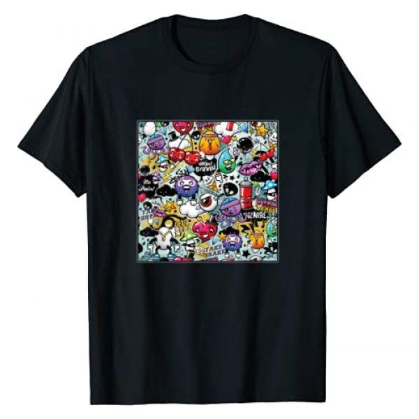 Graffito Hip Hop Painting Graffiti Tag Graffitis Graphic Tshirt 1 Graffiti Art Abstract Spray Paint Street Art Urban Rap Gift T-Shirt