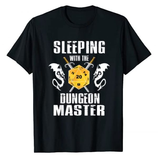 Dungeon Dragons Master Tees Graphic Tshirt 1 Sleeping With The Dungeon Dragons Master Funny T-Shirt