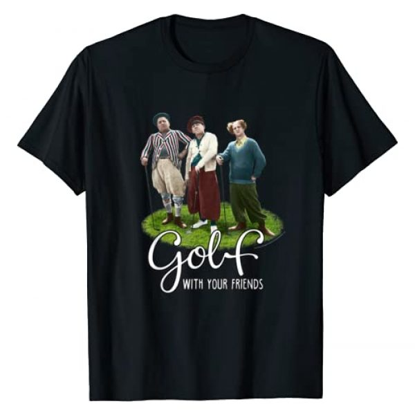 The Three Stooges Graphic Tshirt 1 TTS- The Three Stooges Golf With Your Friends T-Shirt