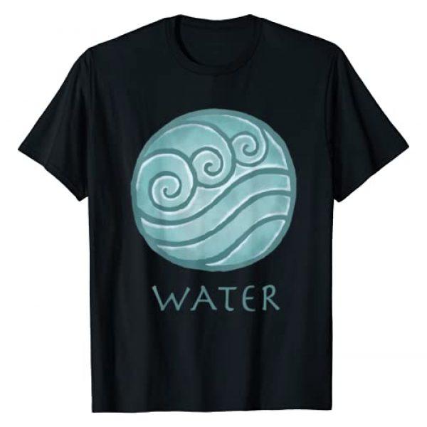 Nickelodeon Graphic Tshirt 1 Avatar The Last Airbender Painted Water Element T-Shirt