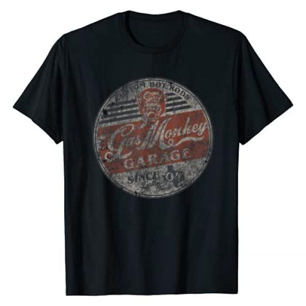 Gas Monkey Garage Graphic Tshirt 1 Since 04 Circle Logo T-Shirt