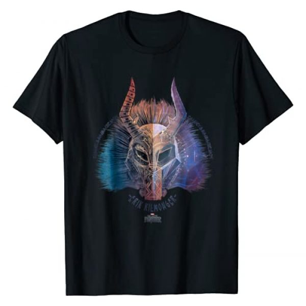 Marvel Graphic Tshirt 1 Black Panther Movie Killmonger Ombre Graphic T-Shirt