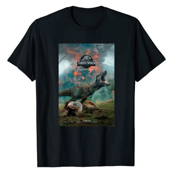 Jurassic World: Fallen Kingdom Graphic Tshirt 1 T-Rex Poster Graphic T-Shirt