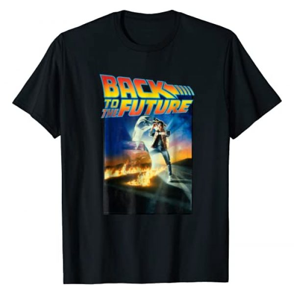 Back To The Future Graphic Tshirt 1 Movie Poster Graphic T-Shirt
