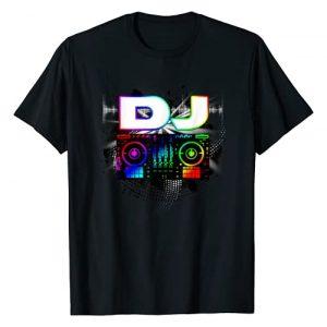 UAB KIDKIS Graphic Tshirt 1 Dj Music Lover Music Player Sound Cool Funny Gift T-Shirt