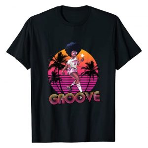 STYLEUNIVERSAL Graphic Tshirt 1 Afro Groove Roller Skate Retro 80s 70s Disco Funk Star T-Shirt