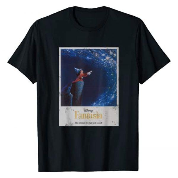 Disney Graphic Tshirt 1 Mickey Mouse Fantasia Retro Poster T-Shirt
