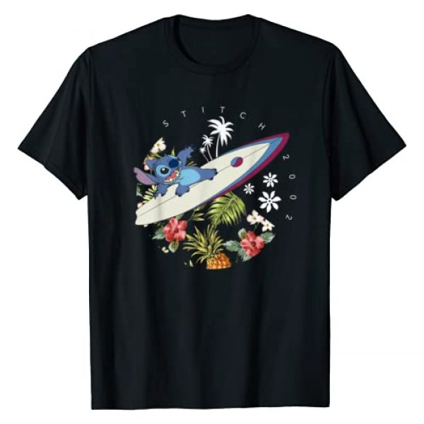 Disney Graphic Tshirt 1 Lilo & Stitch Surfing Stitch 2002 T-Shirt