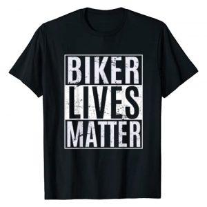 Biker Lives Matter Riders Tee Shirts Graphic Tshirt 1 Biker Lives Matter - Motorcycle Biker Rider Novelty T-Shirt