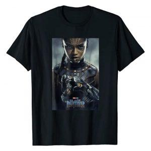 Marvel Graphic Tshirt 1 Black Panther Movie Shuri Poster Graphic T-Shirt