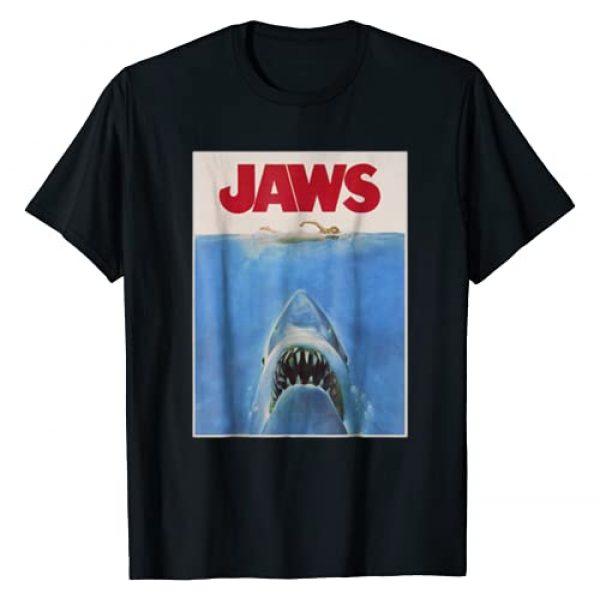 JAWS Graphic Tshirt 1 Classic Movie Poster Graphic T-Shirt