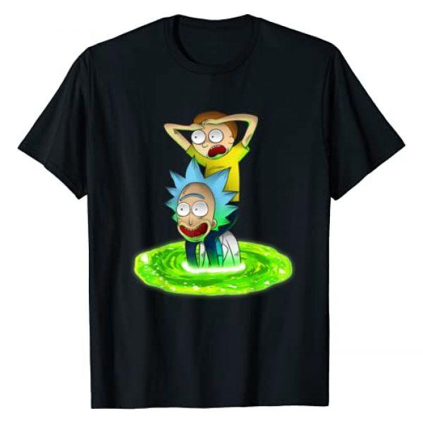 Mademark Graphic Tshirt 1 x Rick and Morty - Rick and Morty Shirt Seeking New Adventure T-Shirt T-Shirt