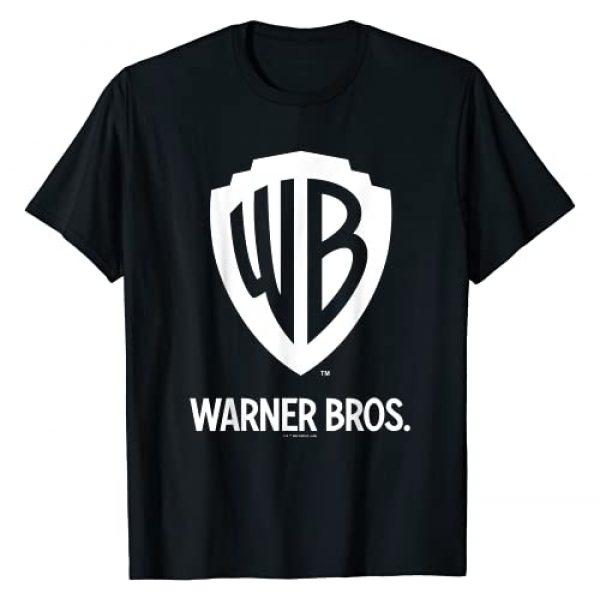 Warner Bros. Graphic Tshirt 1 Warner Brothers WB Blue Logo C1 T-Shirt