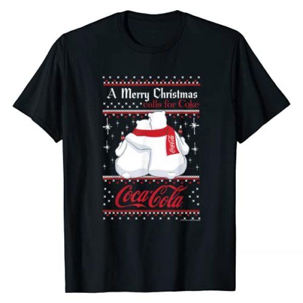 Coca-Cola Graphic Tshirt 1 Polar Bears A Merry Christmas Calls For Coca-Cola T-Shirt