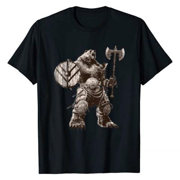 Scandinavian Norse Culture Valknut VEGVISIR Shirt Graphic Tshirt 1 Viking Bear Warrior Odin Berserker TShirt Vikings Myths Tee
