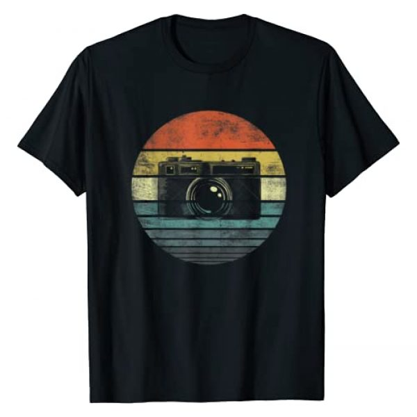 Funny Photographer Apparel Graphic Tshirt 1 Retro Vintage Camera Photography Lover Photographer Gift T-Shirt