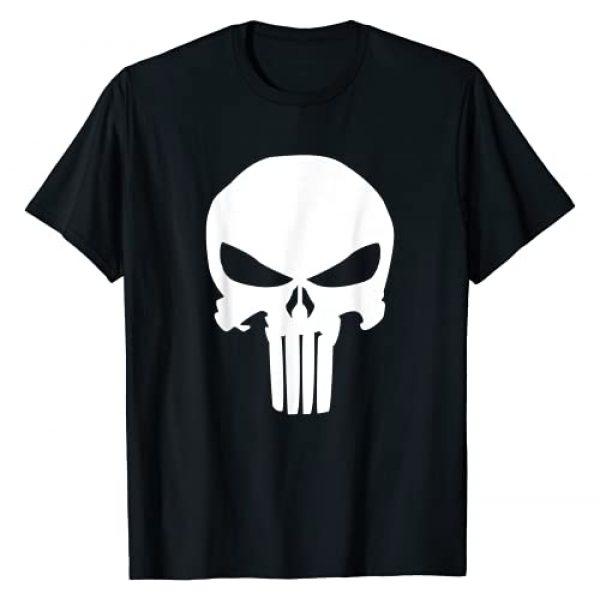 Marvel Graphic Tshirt 1 Punisher Classic Skull Symbol Graphic T-Shirt T-Shirt