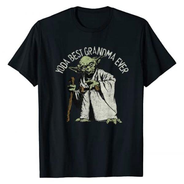 Star Wars Graphic Tshirt 1 Yoda Best Grandma Ever T-Shirt