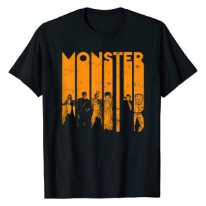 Universal Monsters Graphic Tshirt 1 Letter Group Shot T-Shirt