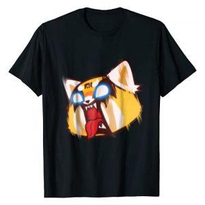 Aggretsuko Graphic Tshirt 1 Screaming Rage Tee Shirt
