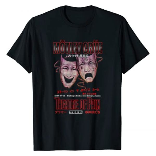 Motley Crue Official Graphic Tshirt 1 Japan Tour Tee T-Shirt