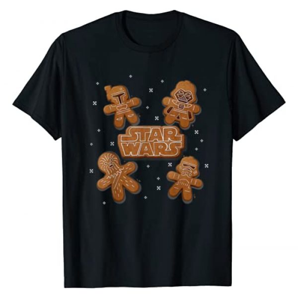 Star Wars Graphic Tshirt 1 Gingerbread Crew T-Shirt
