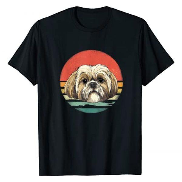 Vintaged Graphic Tshirt 1 Retro Vintage Shih Tzu Dog Breed Lover Gift T-Shirt
